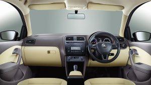 Skoda Rapid Facelift Interior Dashboard