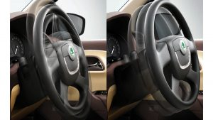 Skoda Rapid Facelift Interior Tilt-and-Telescopic Adjust Steering