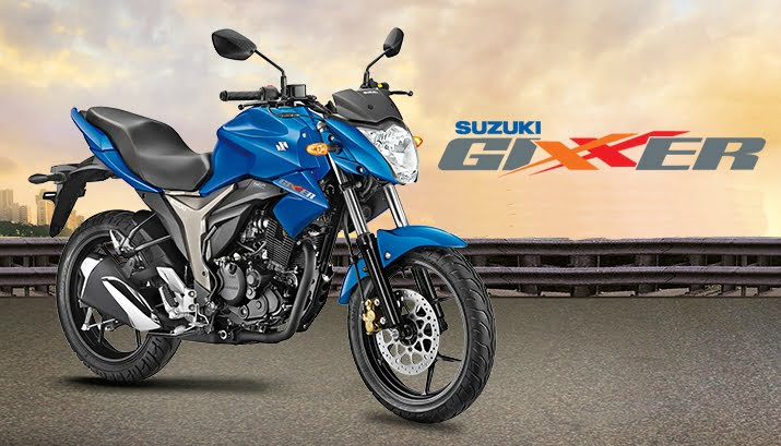 Suzuki Gixxer Front Right Quarter