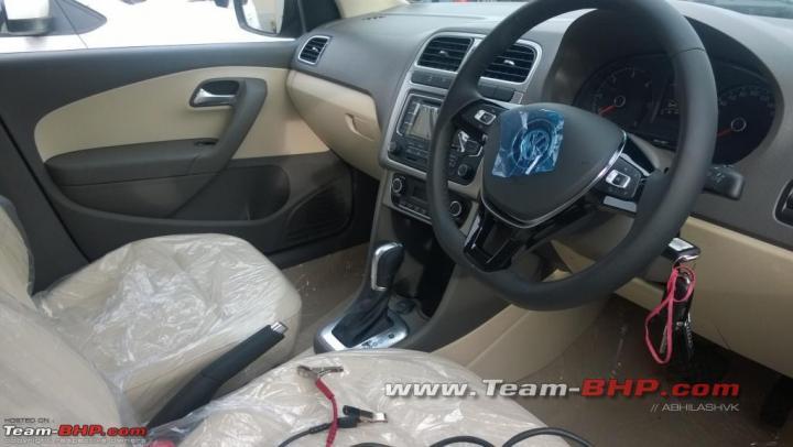 Volkswagen Vento Diesel Automatic Interior Front Cabin