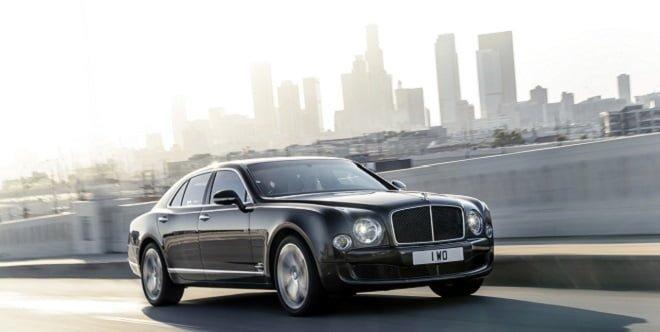 Bentley Mulsanne Speed Revealed