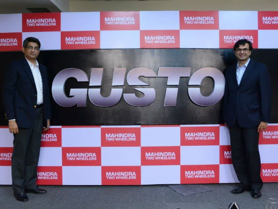 Mahindra Gusto Scooter launch on September 29th