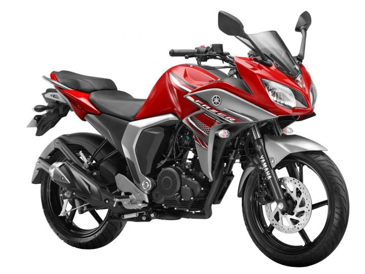 Best 150cc Bikes in India - Yamaha Fazer V2.0