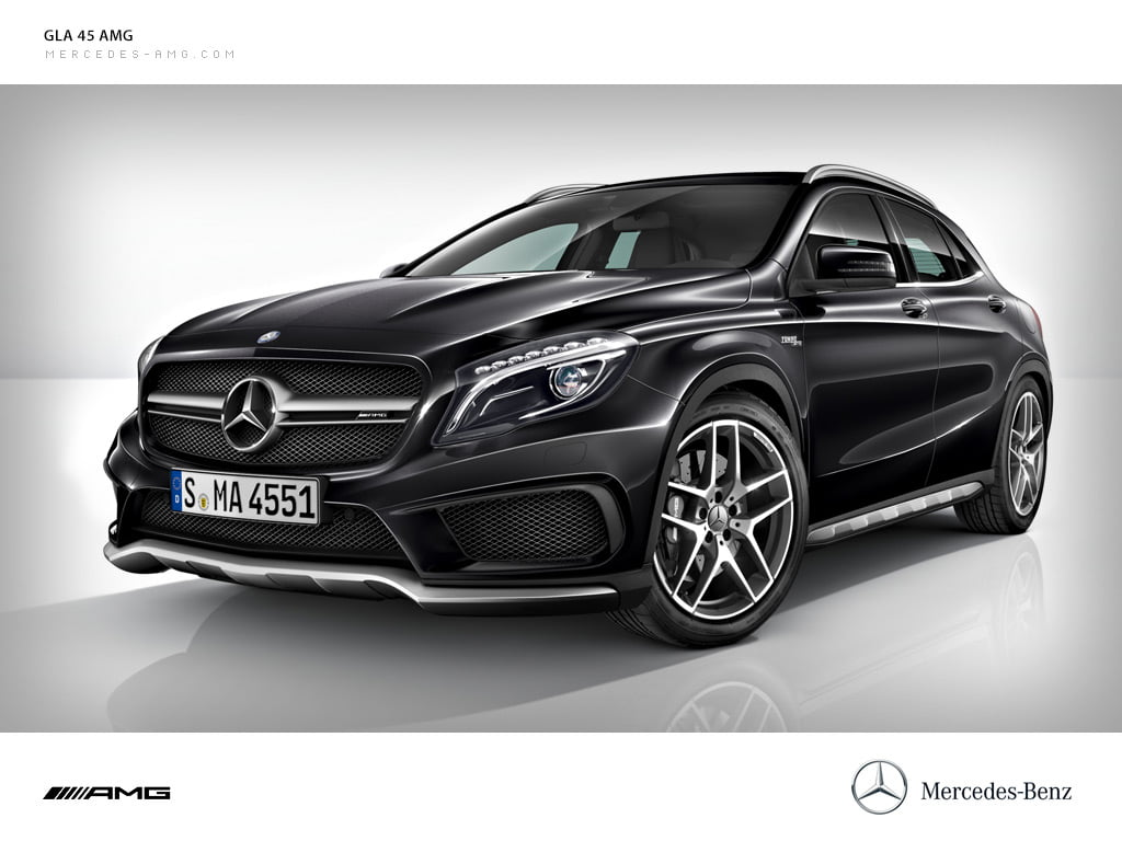 Mercedes benz gla 45 amg launched for Mercedes benz gla india