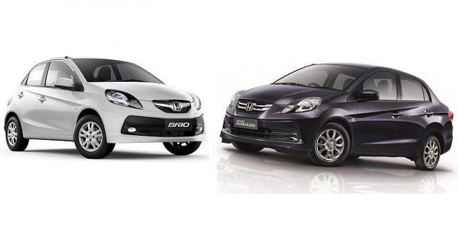 Honda Brio And Amaze Varaints Line-up Changed