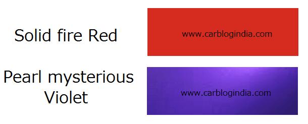 2014 Maruti Swift New Colours
