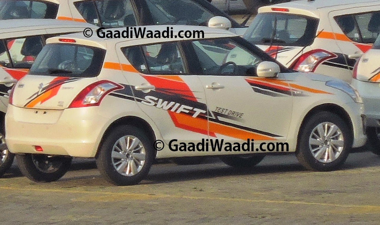 2014 Maruti Swift New Model Bookings Open Carblogindia