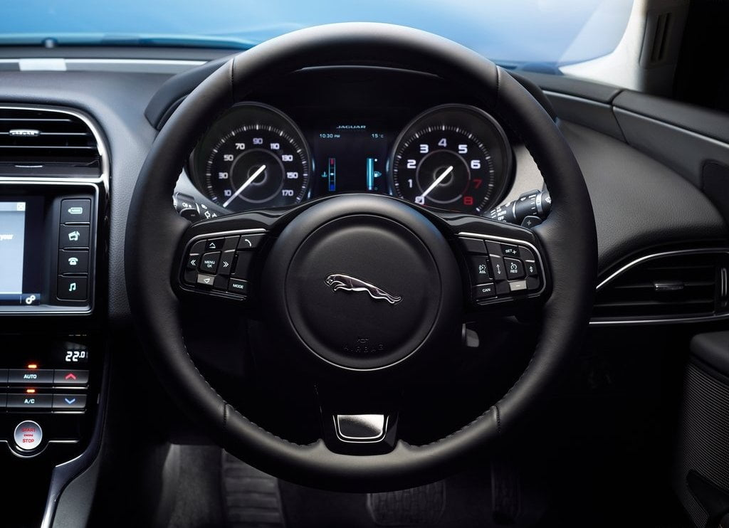 2016 Jaguar XE Interior Steering And Instrument Cluster