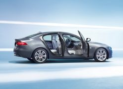 2016 Jaguar XE Right Side Doors Open