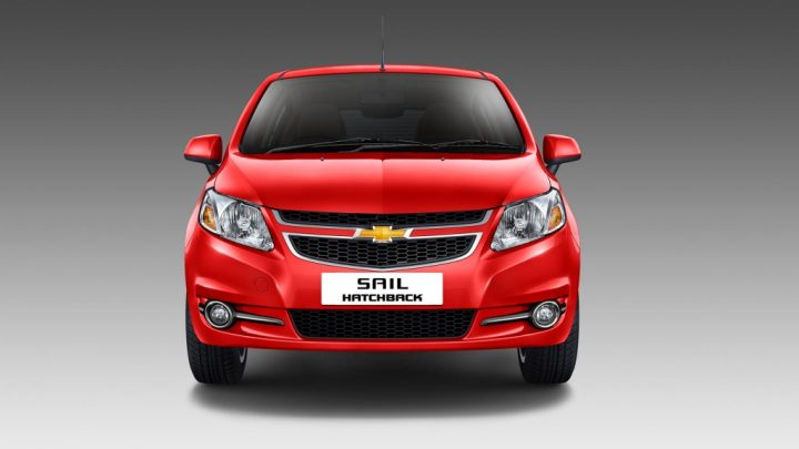 Chevrolet Sail Hatchback Facelift Front
