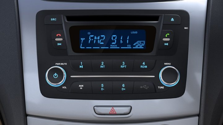Chevrolet Sail Sedan Facelift Interior 2-DIN MMS