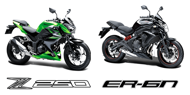 Kawasaki Ninja Z250 And ER-6n Price In India, Features, Specficiations And Details