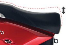 Mahindra Gusto Adjustable Seat