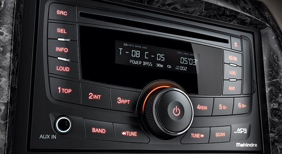 Mahindra Xylo Facelift 2 Din Music System Carblogindia