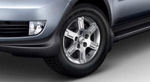 Mahindra Xylo Facelift Alloy Wheel Design