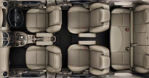 Mahindra Xylo Facelift Interior Cabin Top View