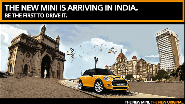 New Mini Cooper Promotion