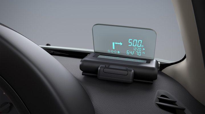 Nissan Terrano Anniversary Edition Interior HUD
