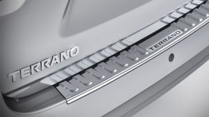 Nissan Terrano Anniversary Edition Rear Chrome Brush Guard