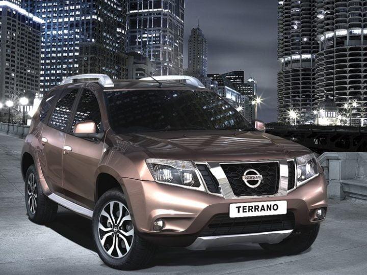 Nissan Terrano Front Right Quarter