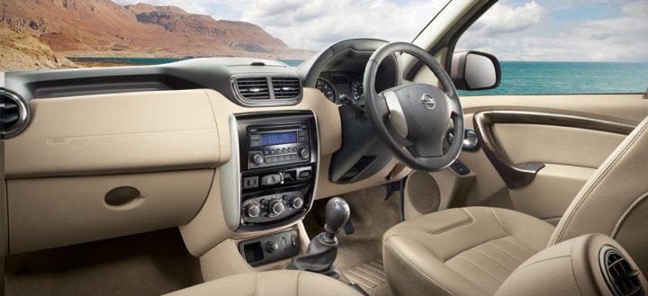 Nissan Terrano Interior Dashboard