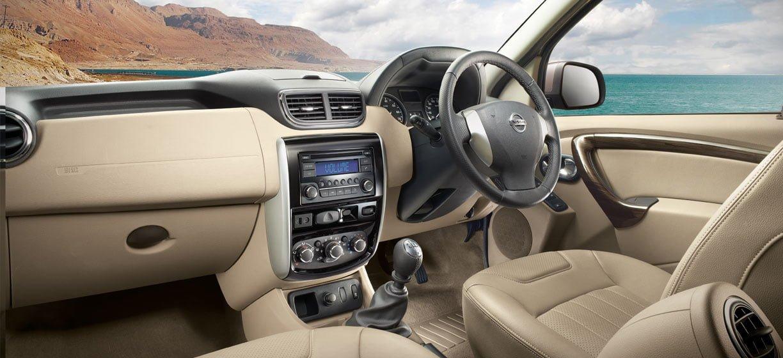 Best Car Reviews >> Nissan Terrano Interior Dashboard - CarBlogIndia