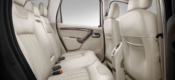 Nissan Terrano Interior Rear Cabin