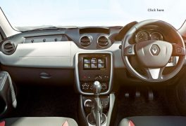 Renault Duster Interior Dashboard