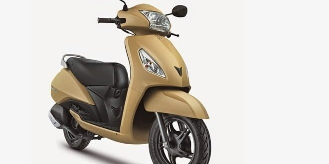 TVS Jupiter Gets New Paint Options