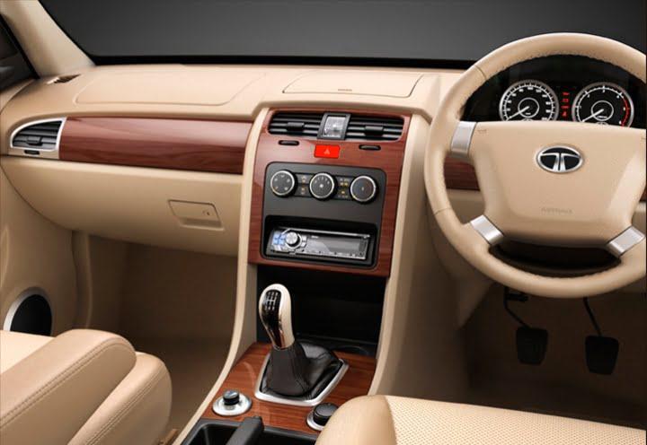 Tata Safari Dashboard