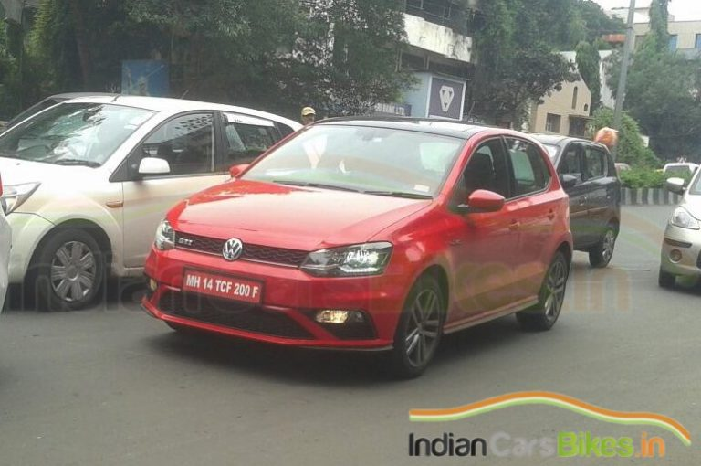 2015 Volkswagen Polo GTI Spotted In India