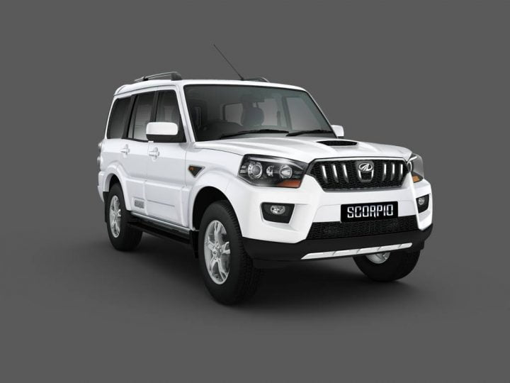 best automatic suv in india under 25 lakhs with price, specs and images 2014-Mahindra-Scorpio-Studio-Shot