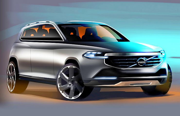 volvo xc40 compact suv confirmed. Black Bedroom Furniture Sets. Home Design Ideas