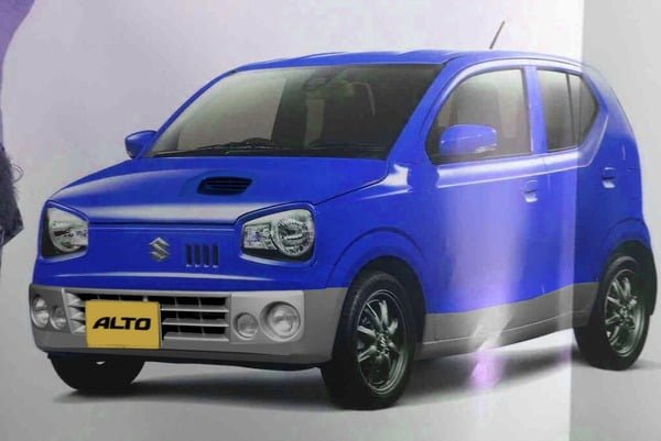 New Suzuki Alto For Japan: Pictures Leaked
