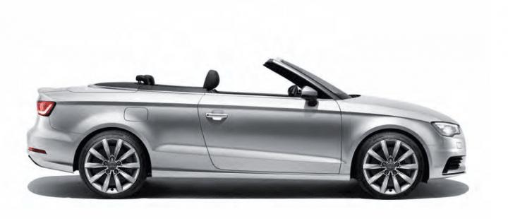 Audi A3 cabriolet SE model