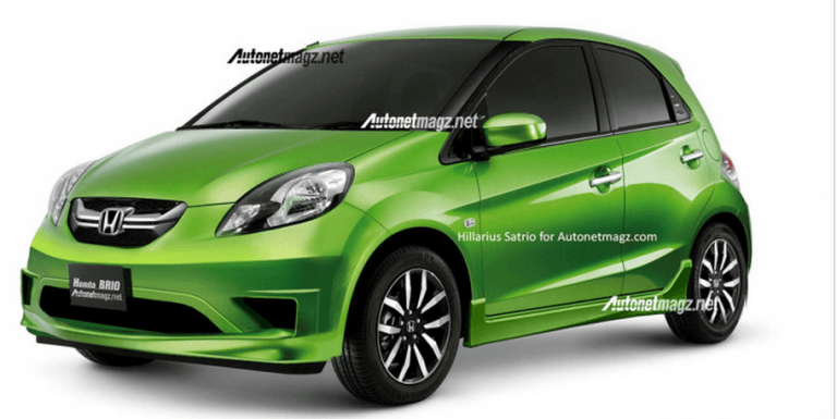 Honda Brio Facelift Rendered- Details Inside