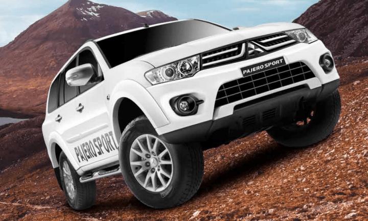 Best Automatic SUV in India - Mitsubishi Pajero Sport