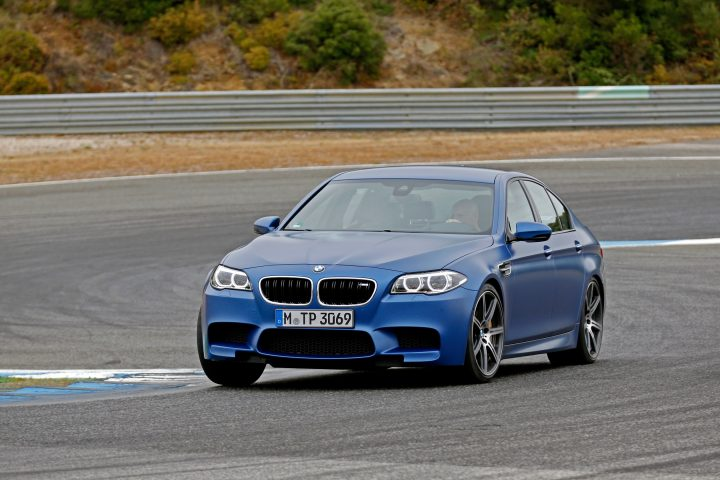 The new BMW M5 a