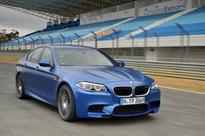 The new BMW M5 b