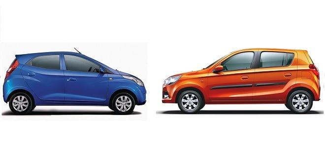 New Maruti Alto K10 vs. Hyundai Eon 1.0 – Which is Better?