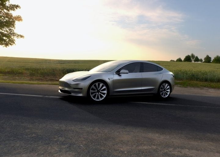 Apple car rival - Tesla Model 3
