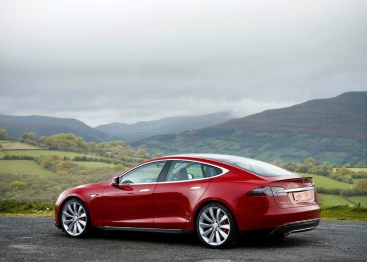 Apple Car rival - Tesla Model S