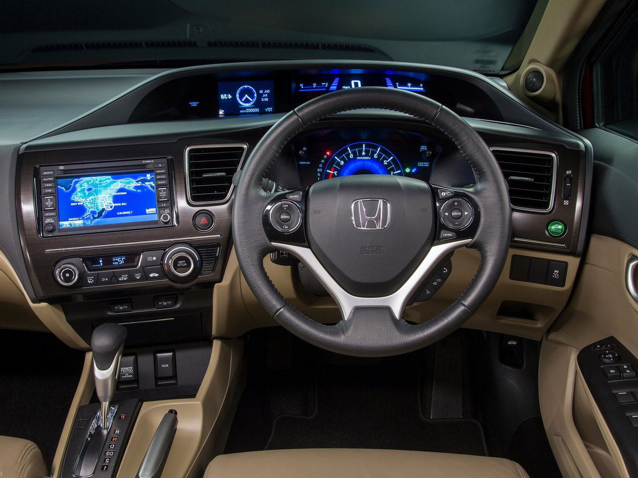 2014 honda civic india launch diesel model price details. Black Bedroom Furniture Sets. Home Design Ideas