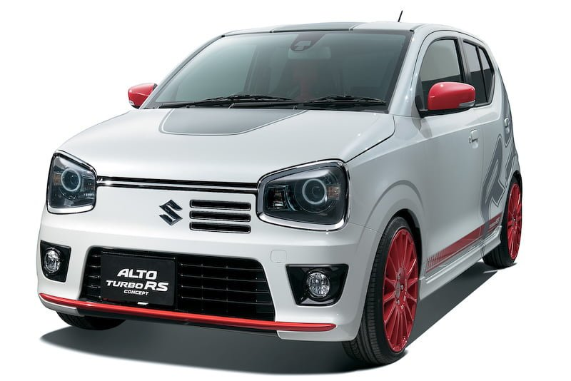 japanese suzuki alto 2015 images and details turbo rs