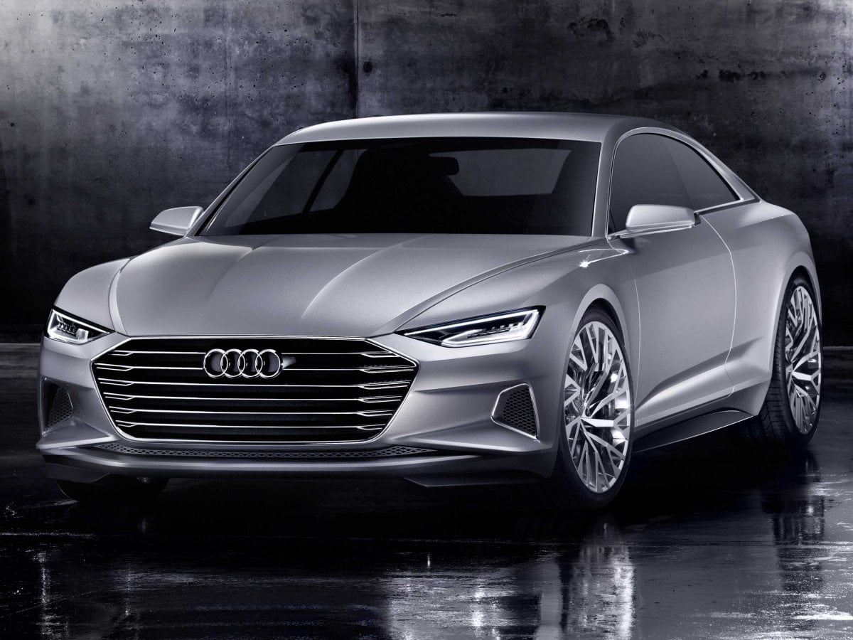 2018 Audi A6 Prologue Front Angle