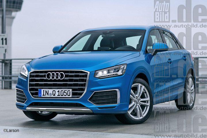 Upcoming Audi Q1 2016 India Rendered Details, Price, Spec.