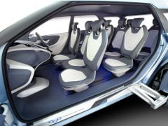 Hyundai MPV India Based on Hexa Space Concept - Interior Space