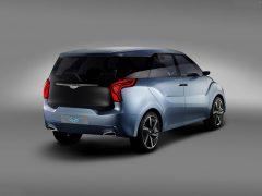 Hyundai MPV India Based on Hexa Space Concept - Rear Angle