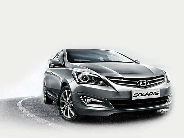 Hyundai solaris new - 1