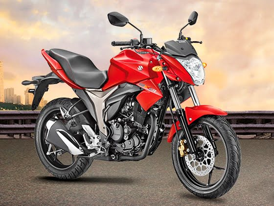 Best 150cc Bikes in India - Suzuki Gixxer